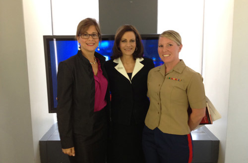 photo with KT McFarland