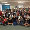 Literacy Week at Wright Elementary with 5th Graders