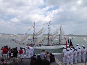 War of 1812 Celebrations in Boston Harbor, 2012.
