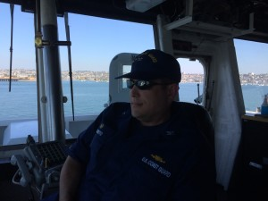 Captain Andy Sugimoto, Commanding Officer CGC Stratton