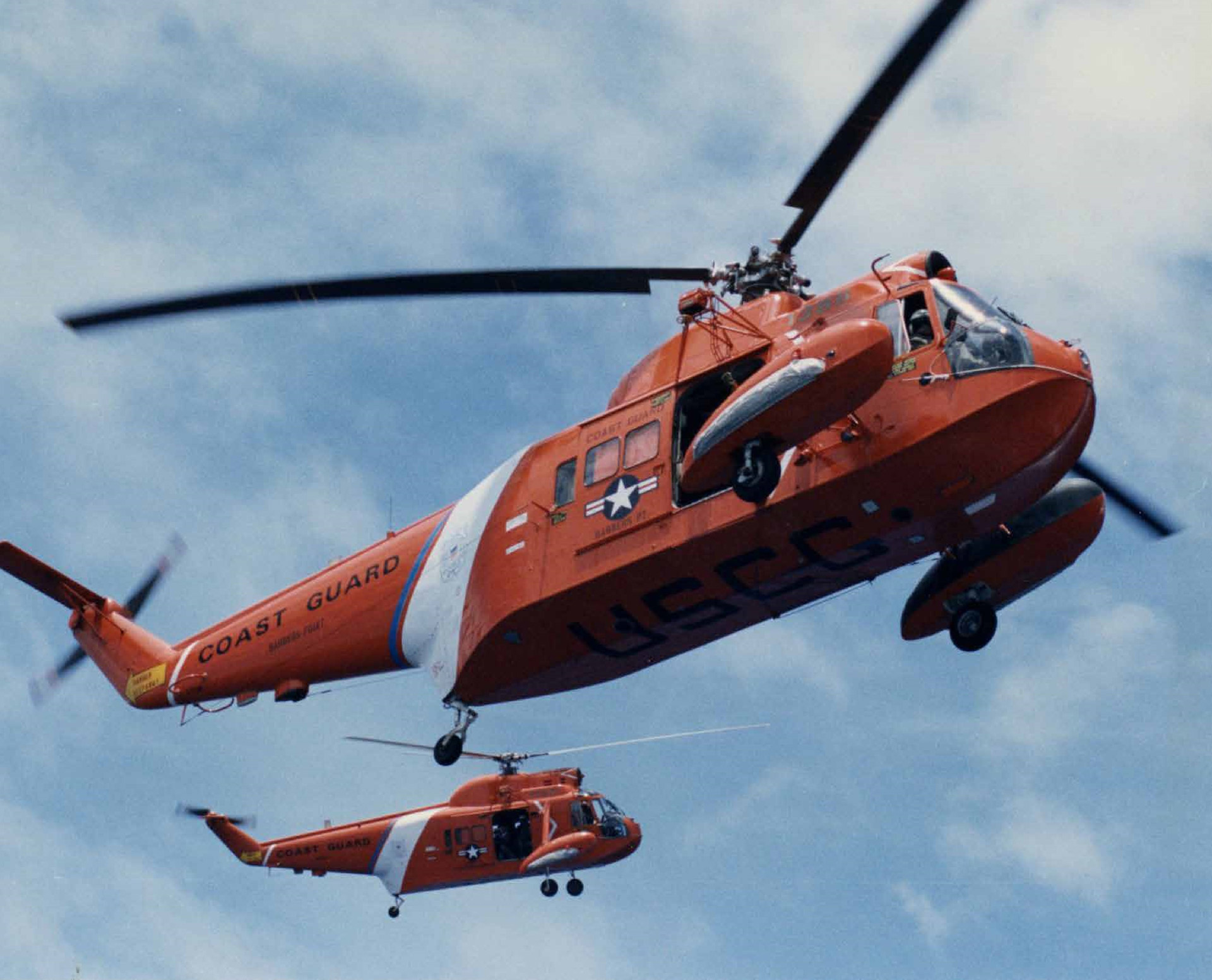 Twirly Birds - 75th anniversary of helicopter operations in