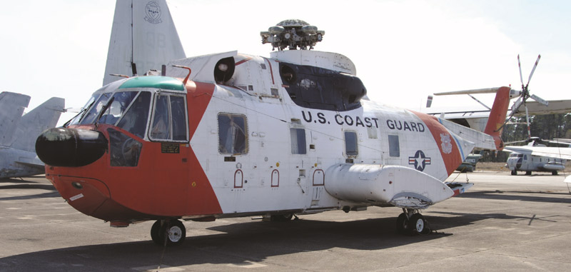 HH–3F CG 1486 now resides at the National Naval Aviation Museum in Pensacola, Florida. NAMF