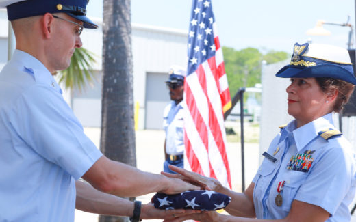 Martha LaGuardia-Kotite US Coast Guard Retirement