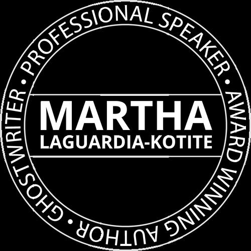 Martha LaGuardia-Kotite Emblem Light Professional Keynote Speaker