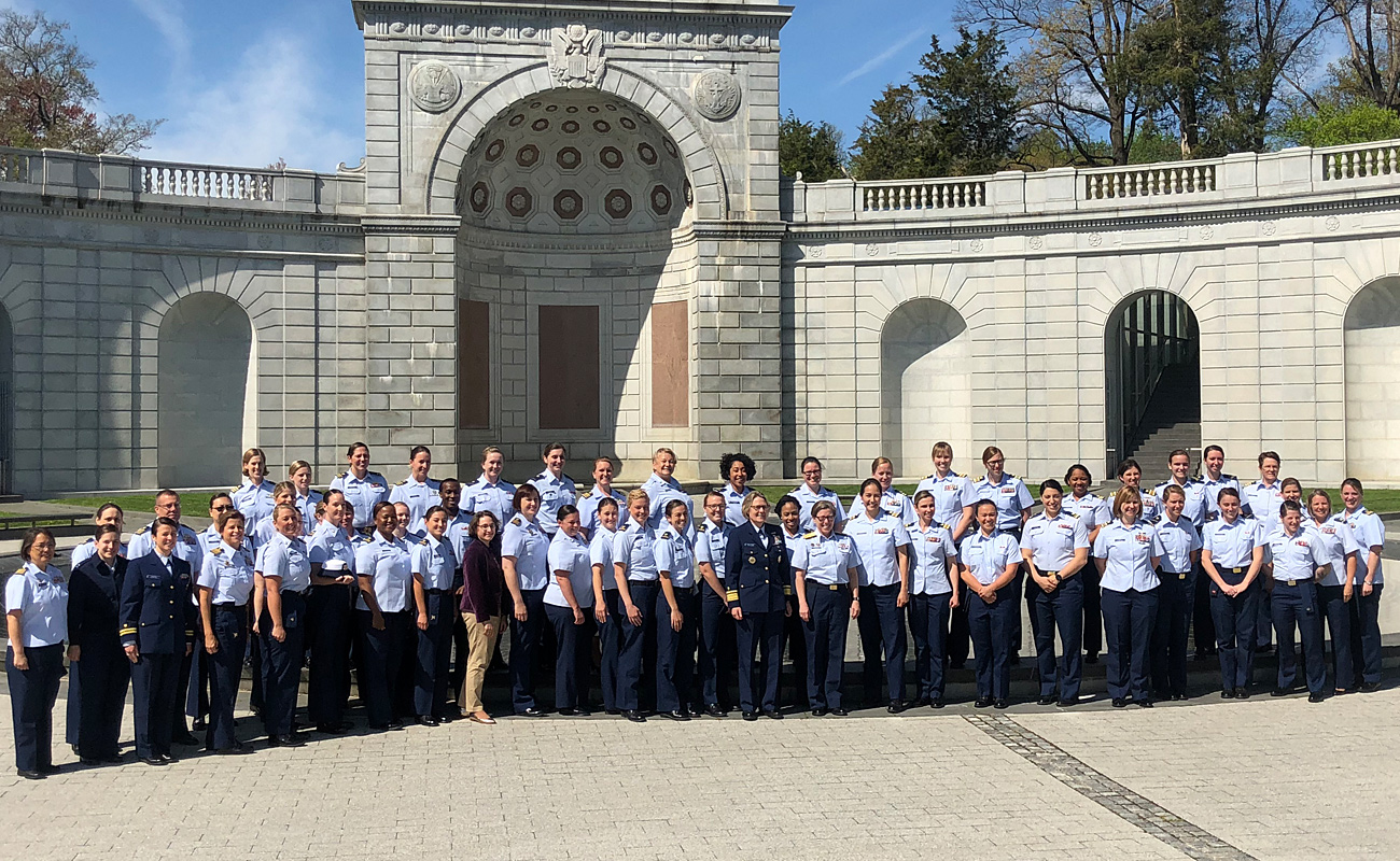 U.S. Coast Guard Women Group Photo