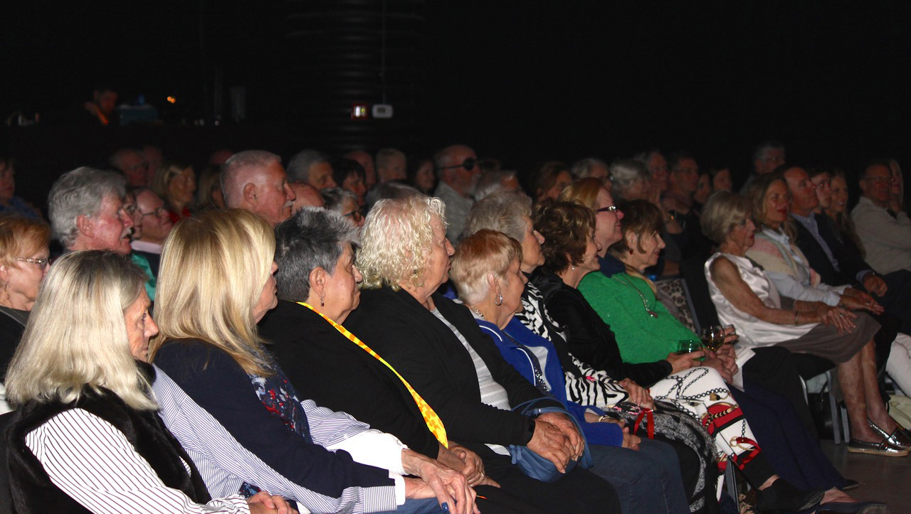 Martha Kotite Emerald Coast Theatre Company Stroyteller Event Audience
