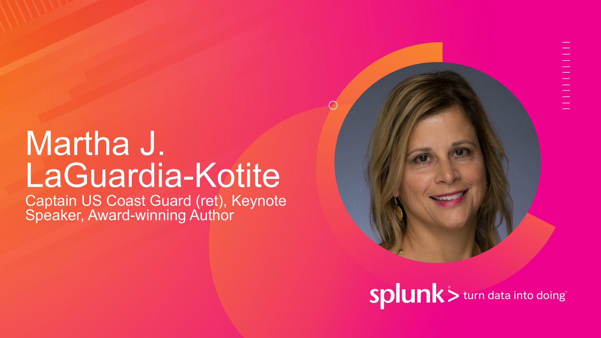 Martha Kotite SPLUNK Keynote Banner