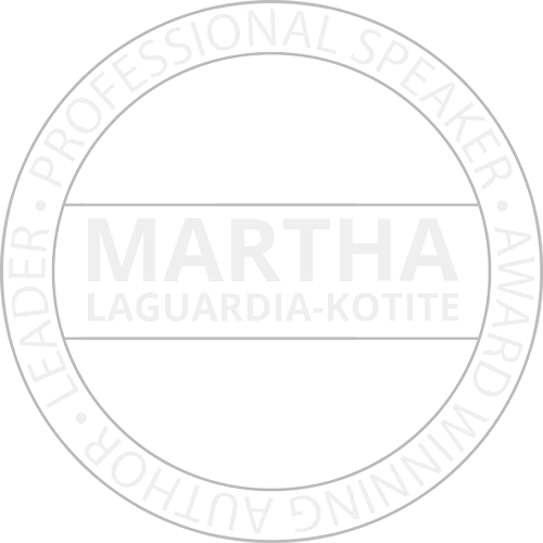 Martha LaGuardia-Kotite - Leader, Professional Speaker, Award Winning Author Logo